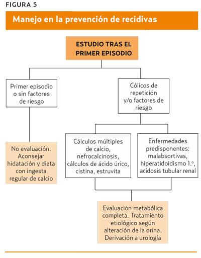 Litiasis renal oxalato de calcio dieta