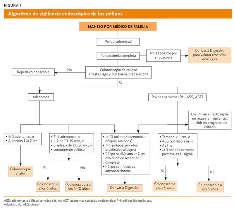 Seguimiento de los pólipos intestinales (AMF 2016) Mejorando la ...